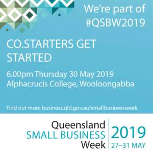 GET STARTED Evening 30th May 2019